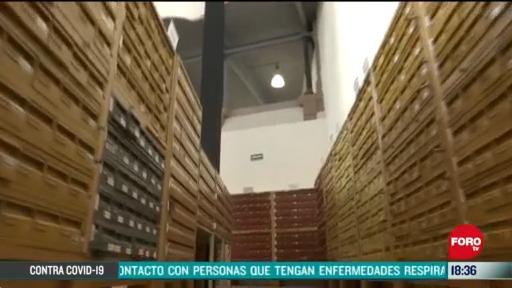 FOTO: archivo general de la nacion digitaliza documentos historicos