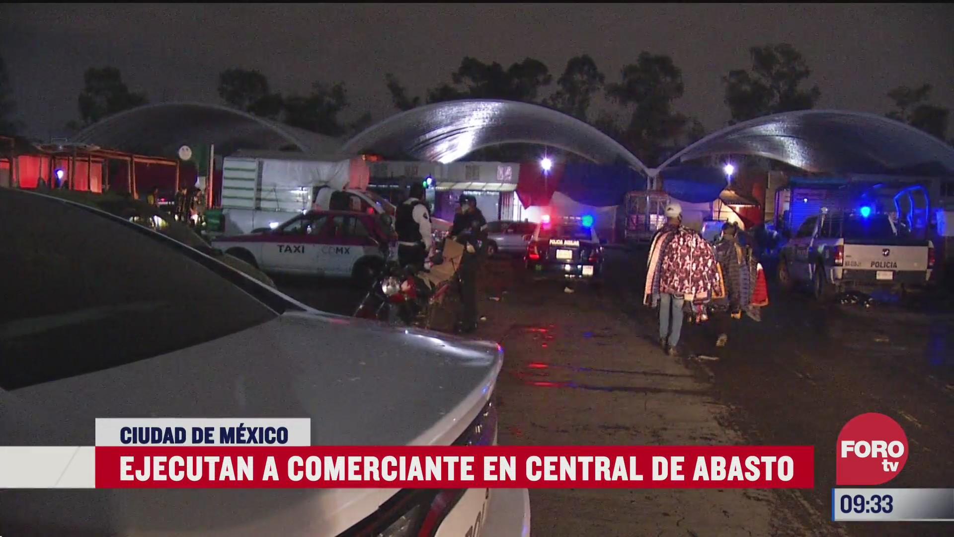 asesinan a comerciante en la central de abasto de la ciudad de mexico