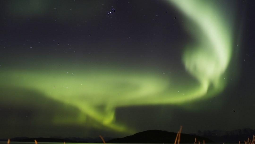 Así se ve una aurora austral desde la Estación Espacial Internacional