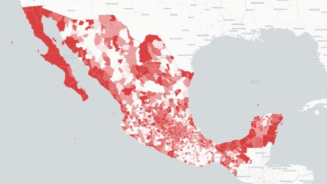 Casos de coronavirus en México. Ssa