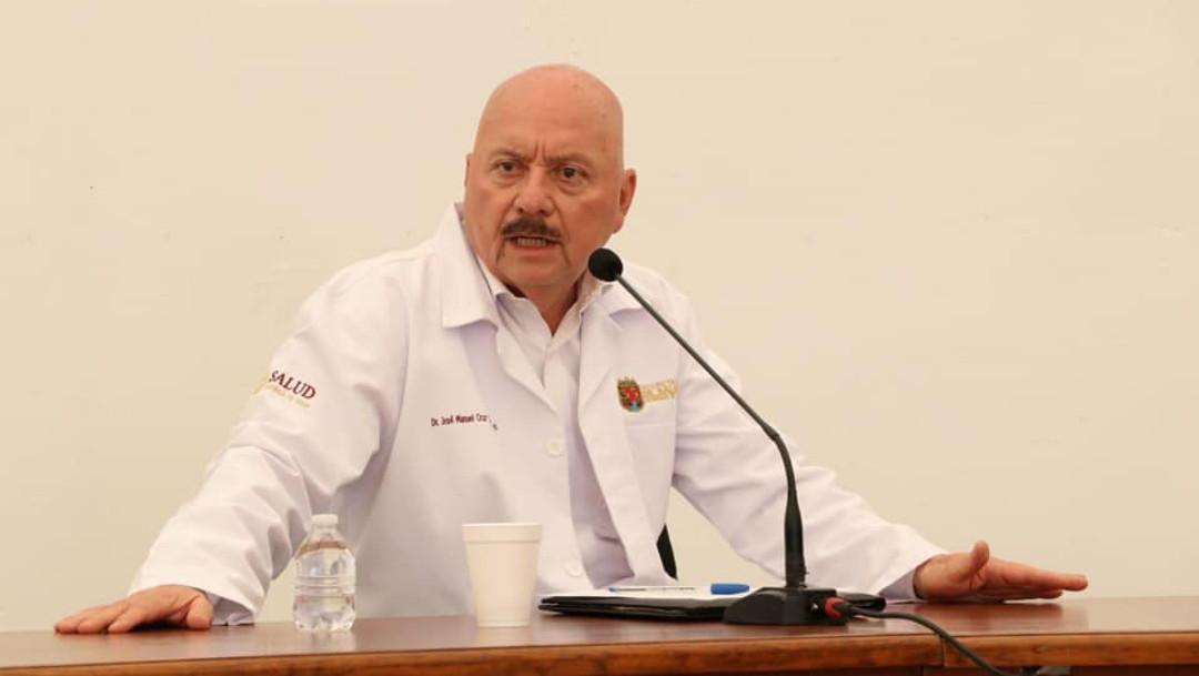 José Manuel Cruz Castellanos. Secretario de Salud de Chiapas