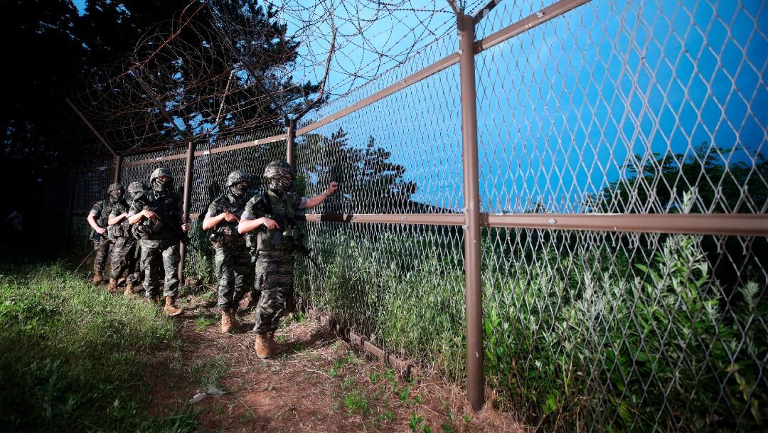 Foto: Corea del Norte despliega a soldados en la frontera con el Sur