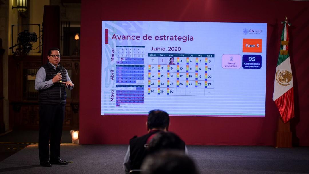 José Luis Alomía, director de Epidemiología de la Secretaría de Salud,