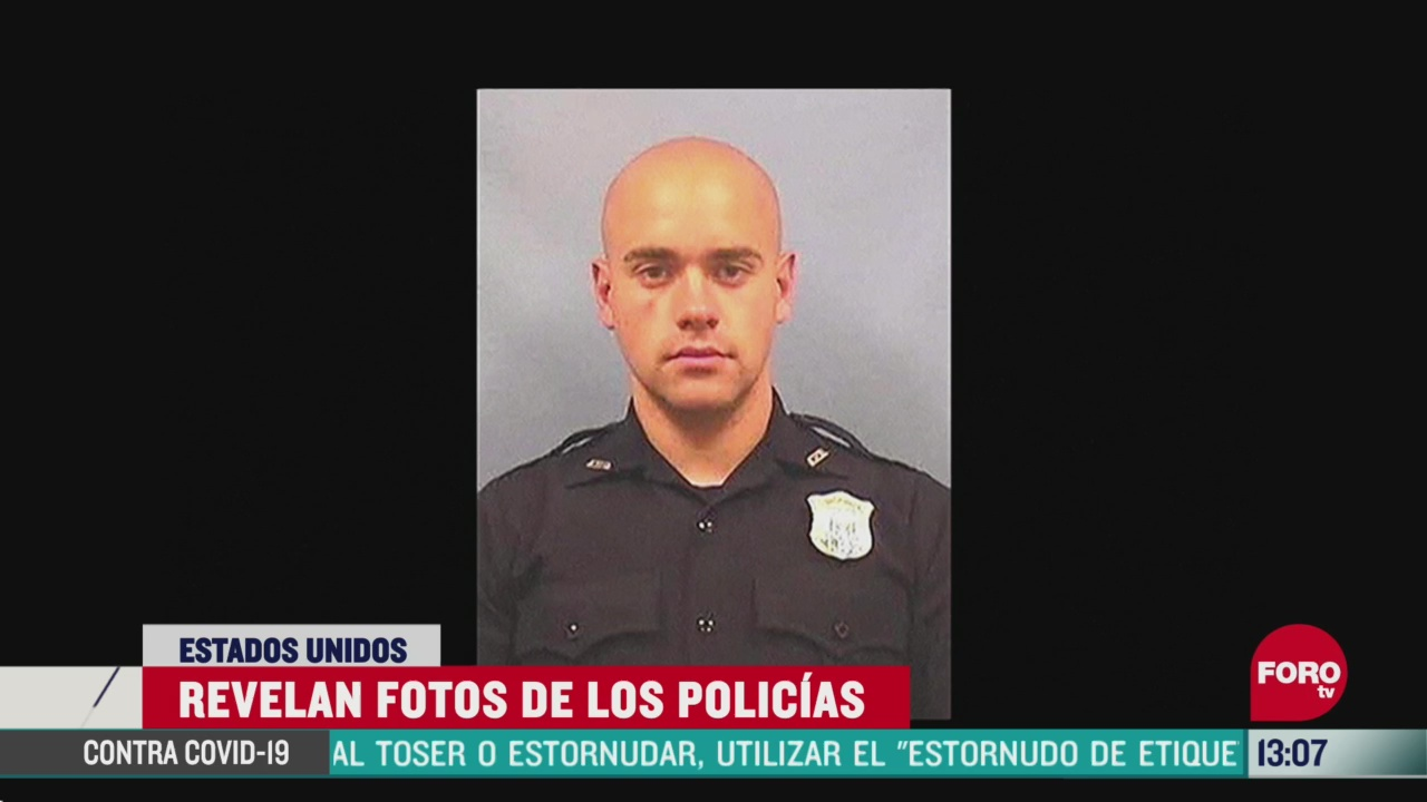 FOTO: 14 de junio 2020, dan a conocer fotografias de policias involucrados en muerte de rayshard brooks