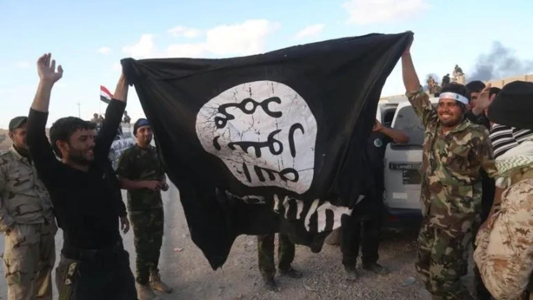 Bandera Estado Islámico, AP archivo