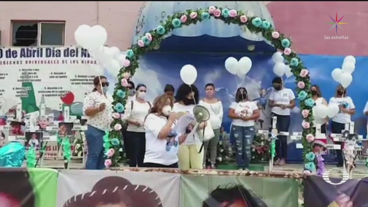 Familiares rinden homenajes a víctimas de la Guardería ABC a 11 años de la tragedia