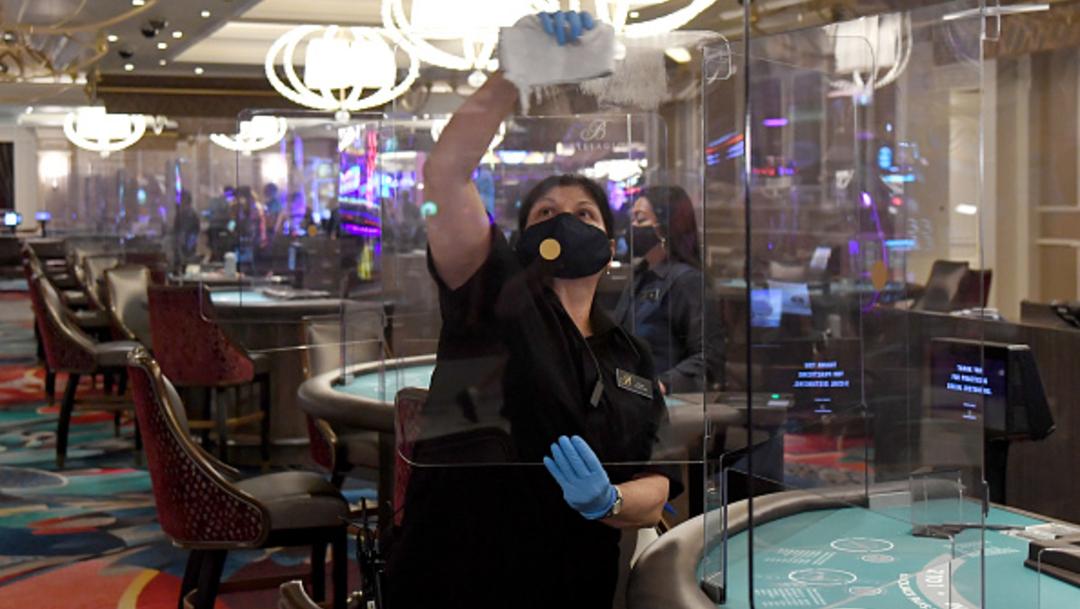 Foto: Casinos en Las Vegas reabren tras cierre por coronavirus, 4 de junio de 2020, (Getty Images, ARCHIVO)