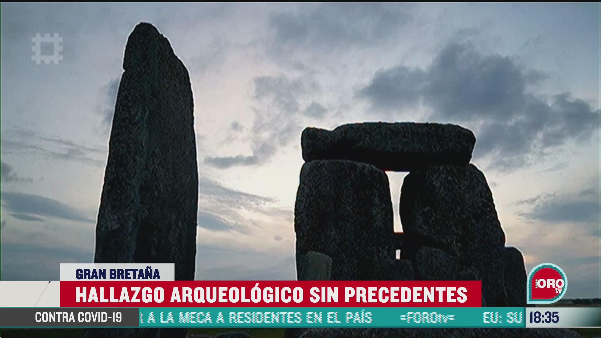 FOTO: hallan anillo prehistorico de pozos en gran bretana