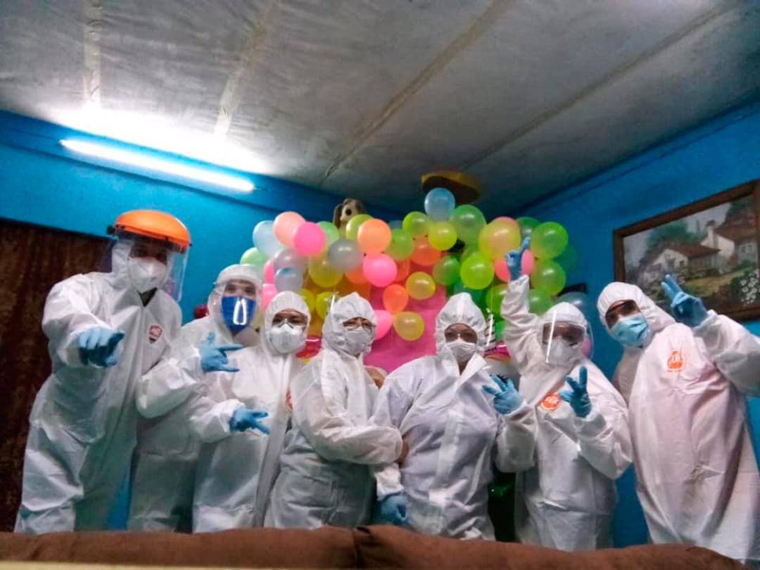 Hospital Veracruz Equipo Médico Fiesta Coronavirus