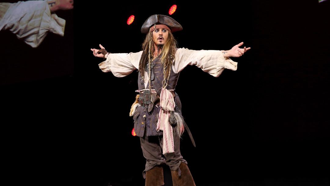Johnny Depp vuelve a ser Jack Sparrow