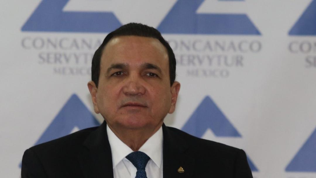 José Manuel López, titular de la Concanaco-Servytur (Foto: @Concanaco)