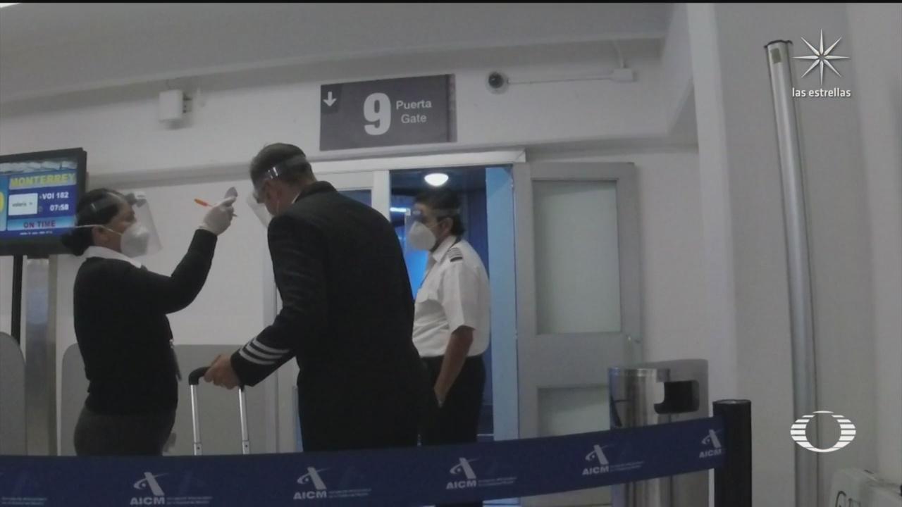 la nueva normalidad en los aeropuertos de mexico