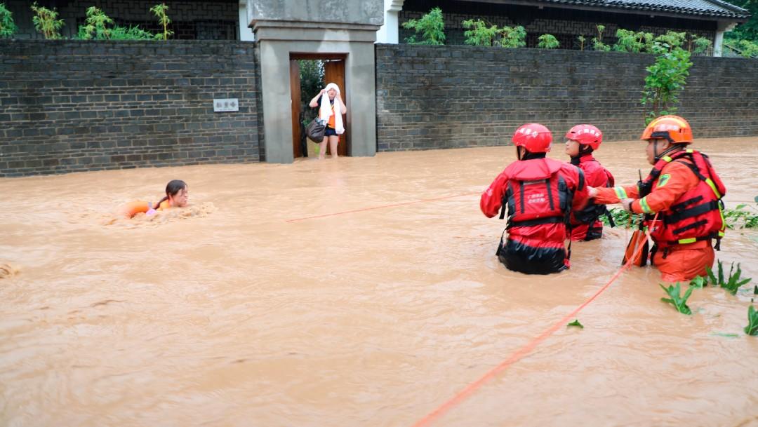 Lluvias causan inundaciones en China y dejan varios muertos