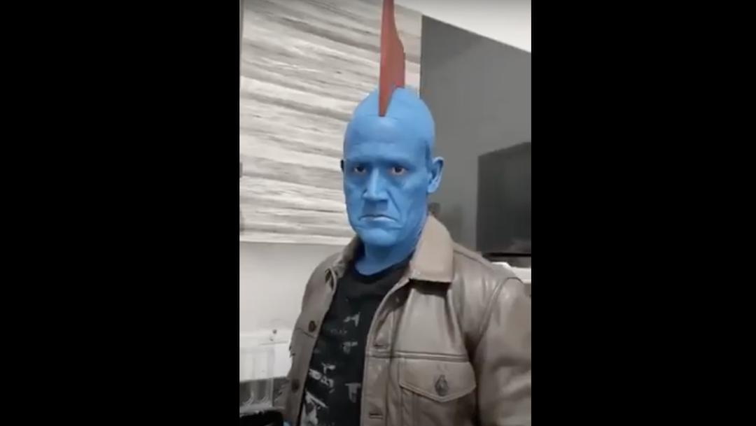 Luis Hernández, Disfrazado, Yondu, Video