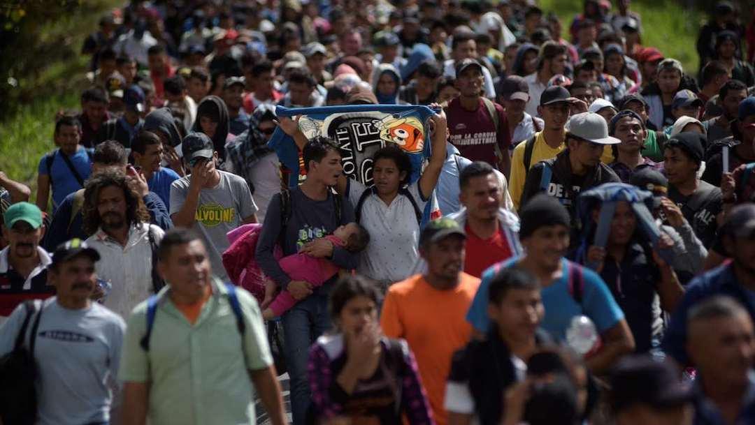 Nueva caravana migrante buscaría ingresar a México; 30% tendrían COVID-19