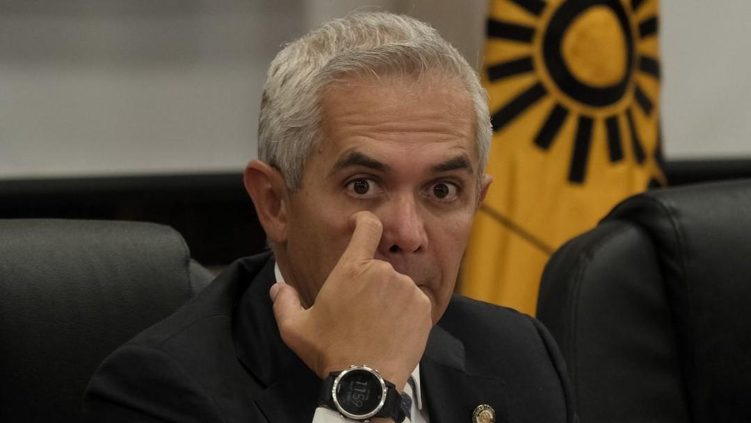 Miguel Ángel Mancera, coordinador del PRD en el Senado