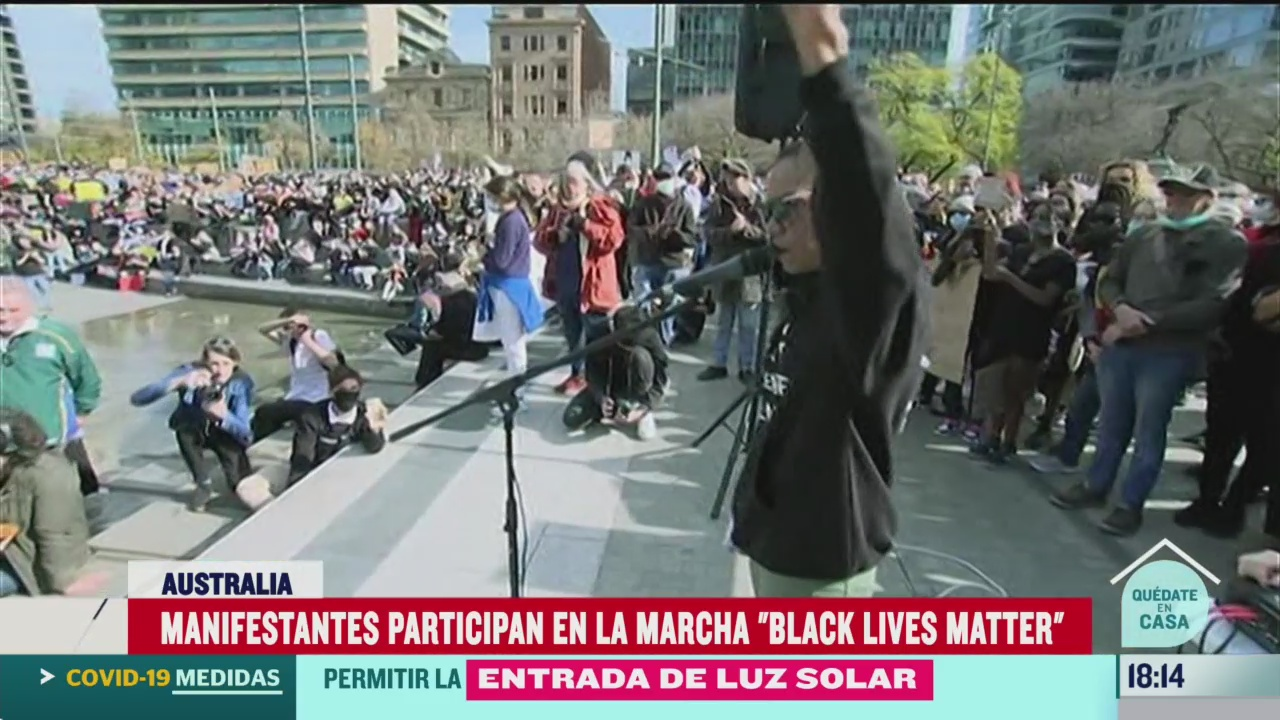 FOTO: 6 de junio 2020, miles protestan en el mundo en honor a george floyd