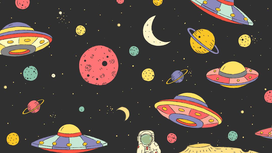 Perdimos 5 objetos en el espacio, ¿Nos ayudas a encontrarlos?
