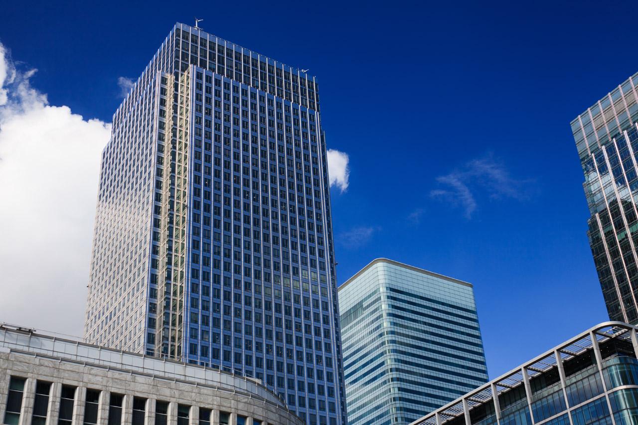 Fotografía de edificios de oficinas