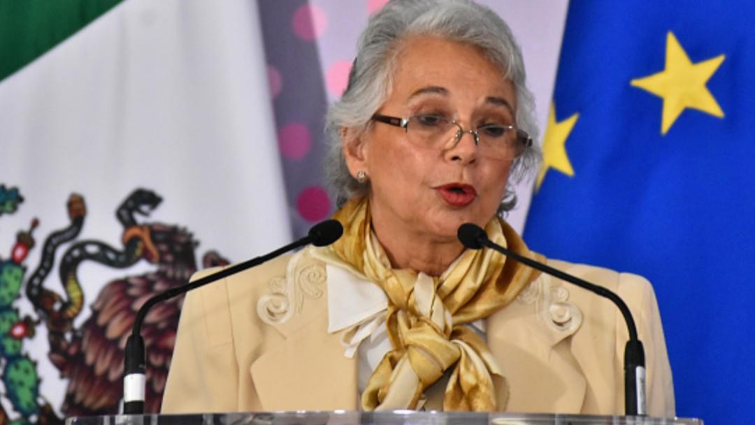 Olga Sánchez Cordero, secretaria de Gobernación. Getty Images