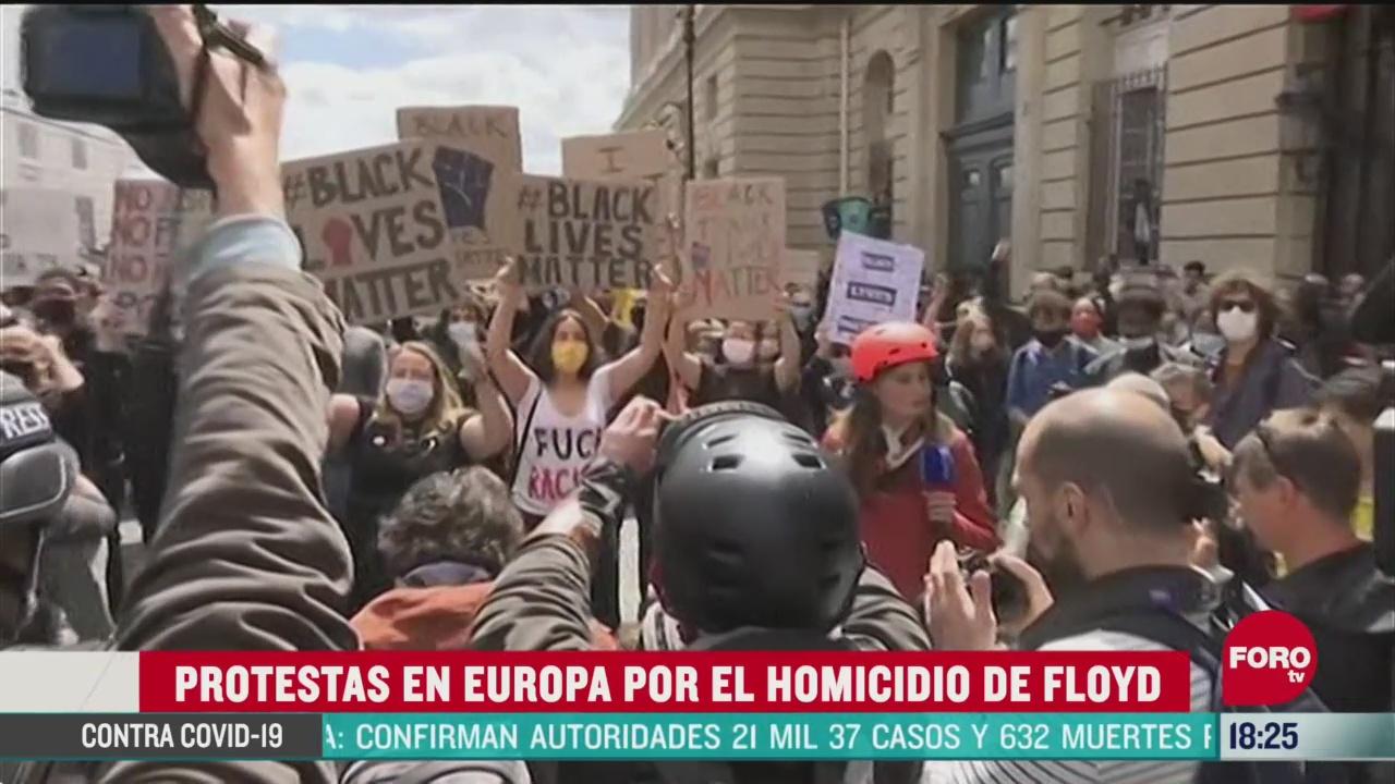 FOTO: 7 de junio 2020, protestan en varios paises del mundo por la muerte de george floyd