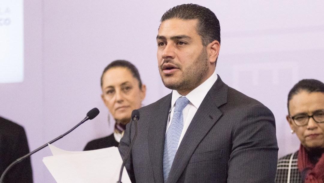 Omar García Harfuch, secretario de seguridad