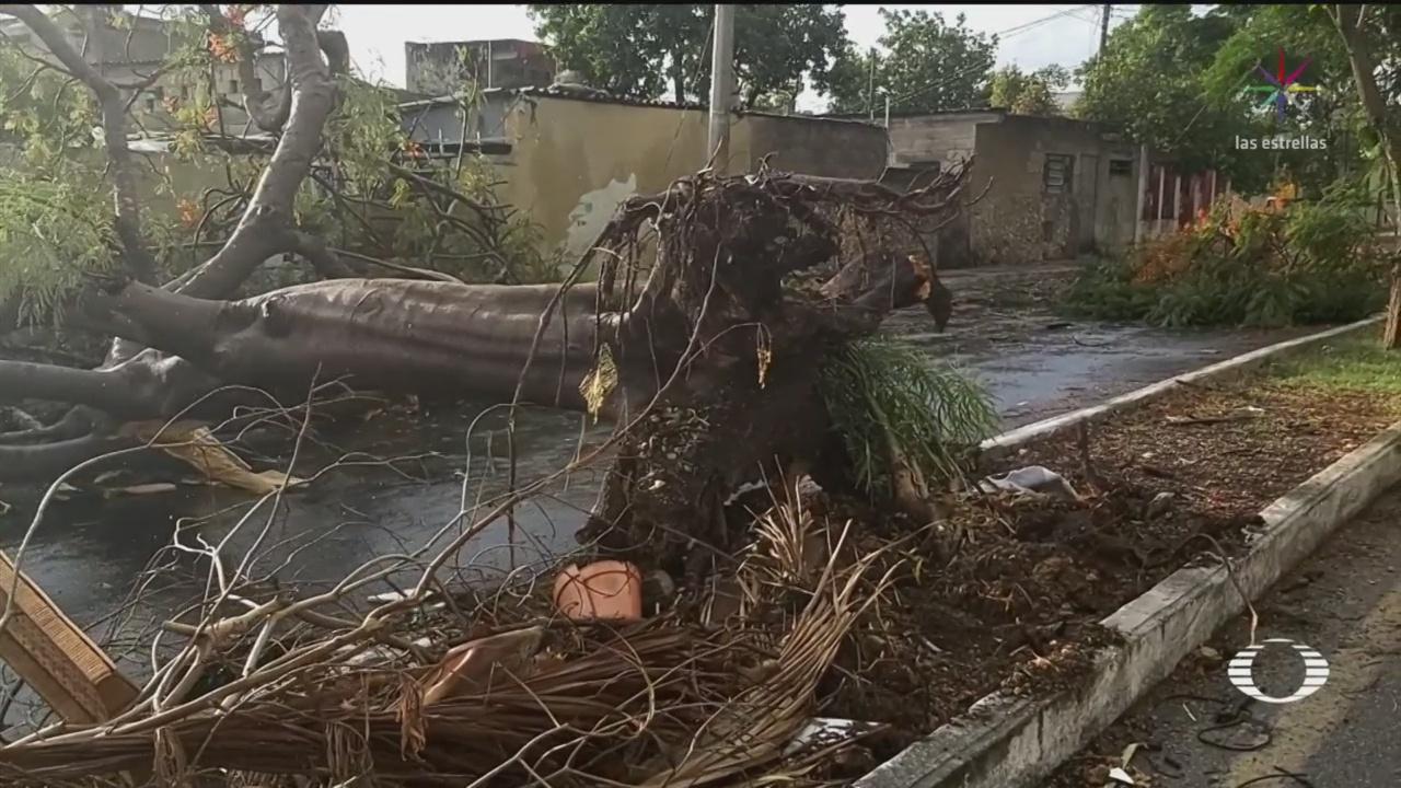 Se forma la Depresión Tropical 3 en la bahía de Campeche