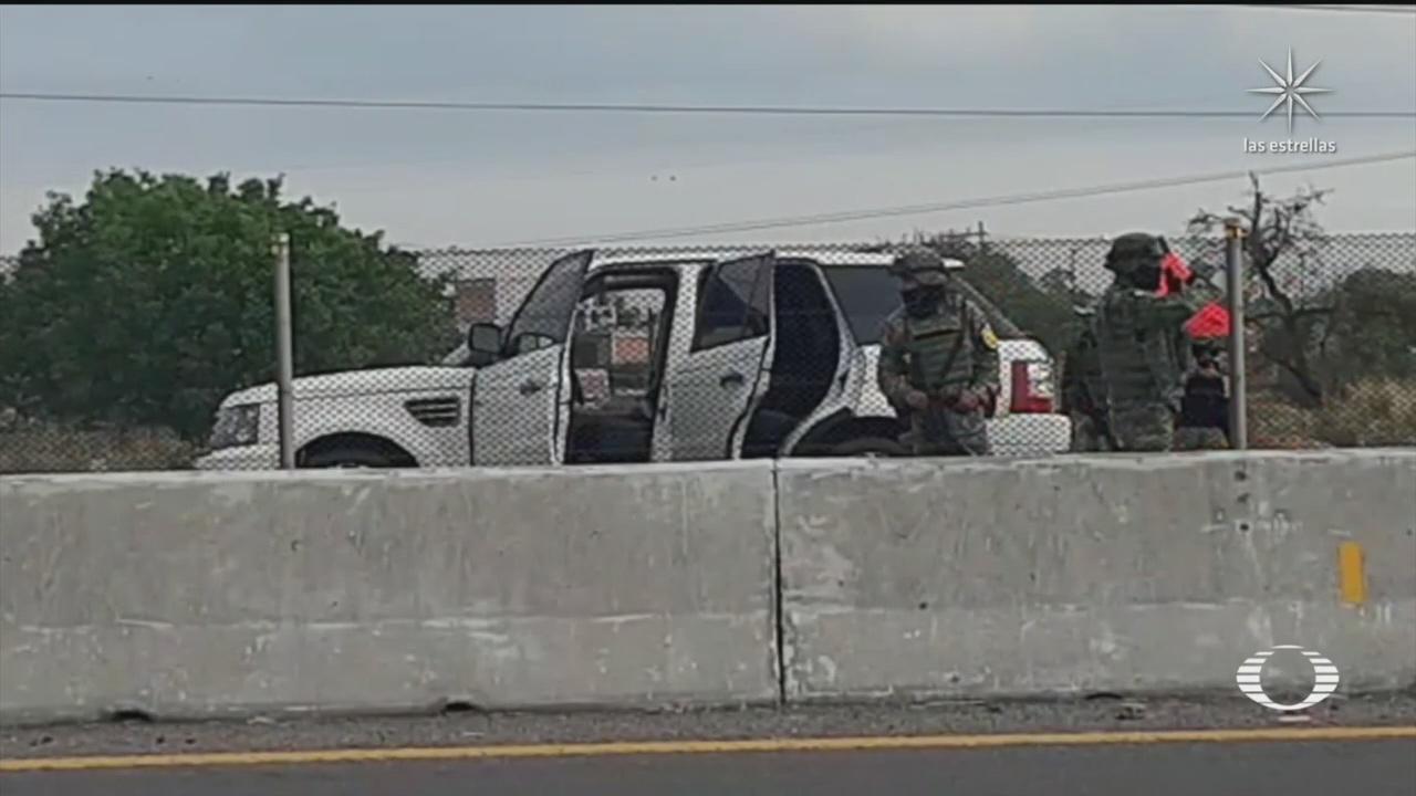 camioneta con explosivos en Salamanca asegurada por Sedena