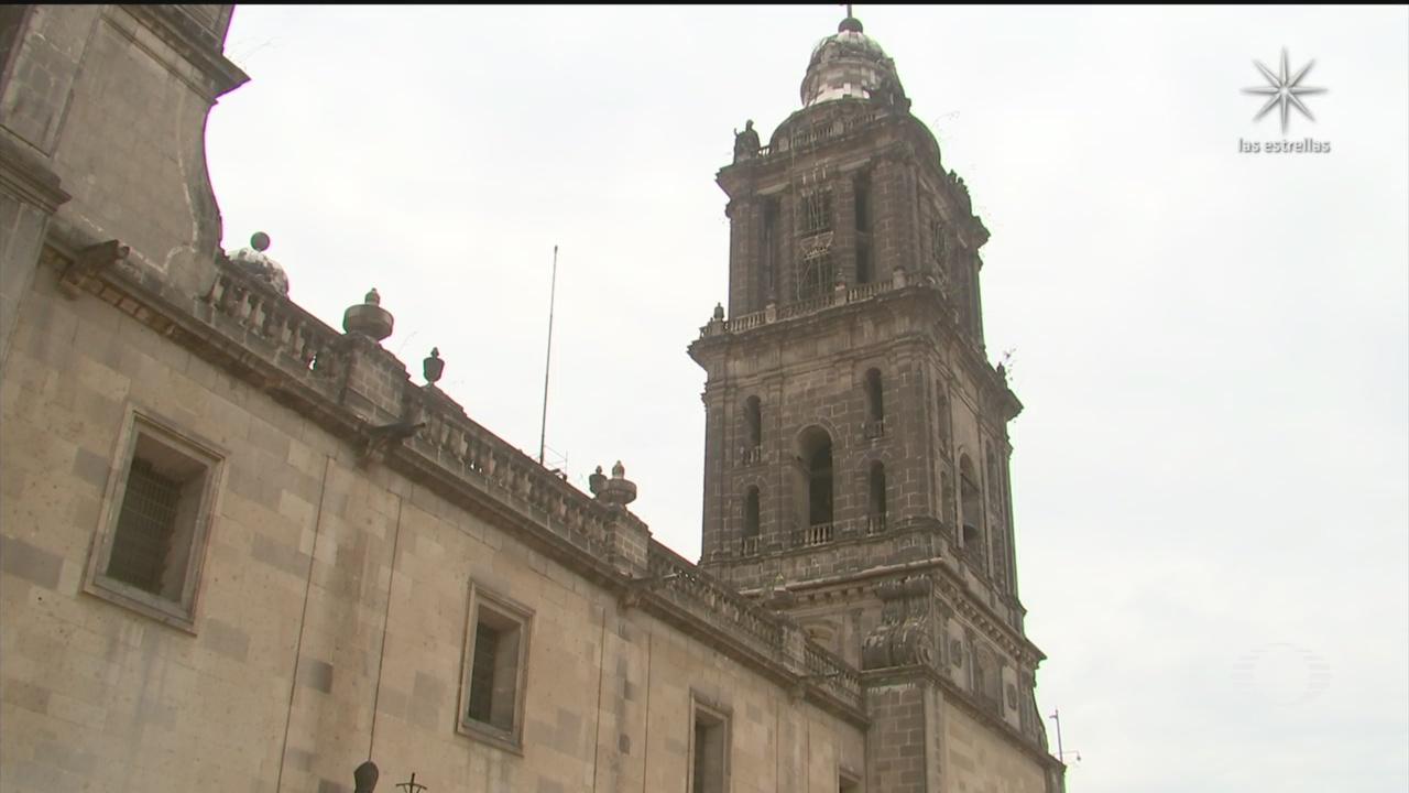 Catedral Metropolitana de la CDMX con daños por el sismo 23 junio 2020