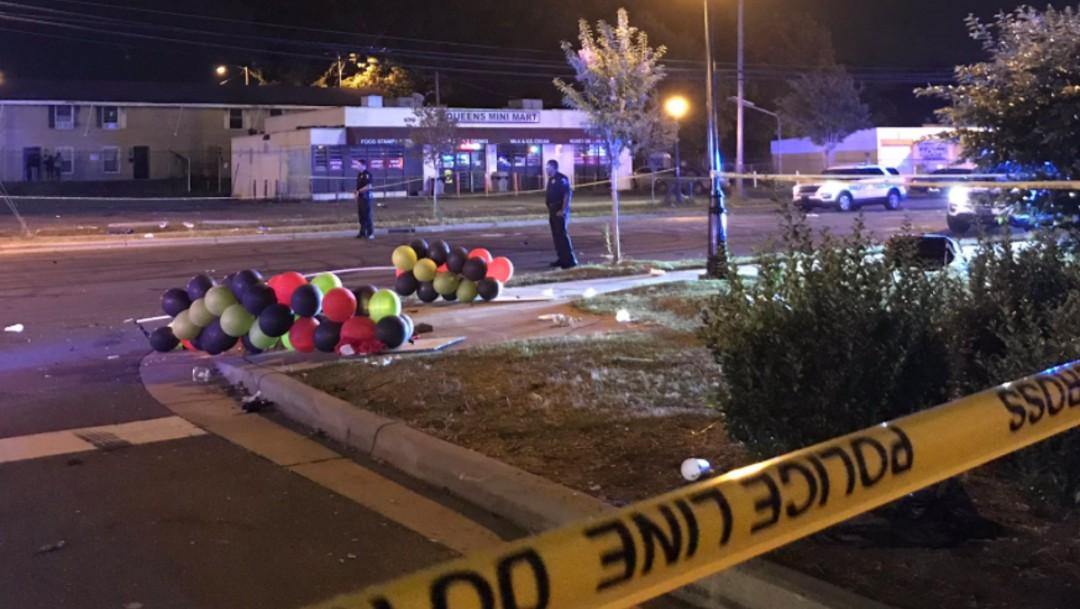 Tiroteo en Charlotte deja dos muertos y siete heridos