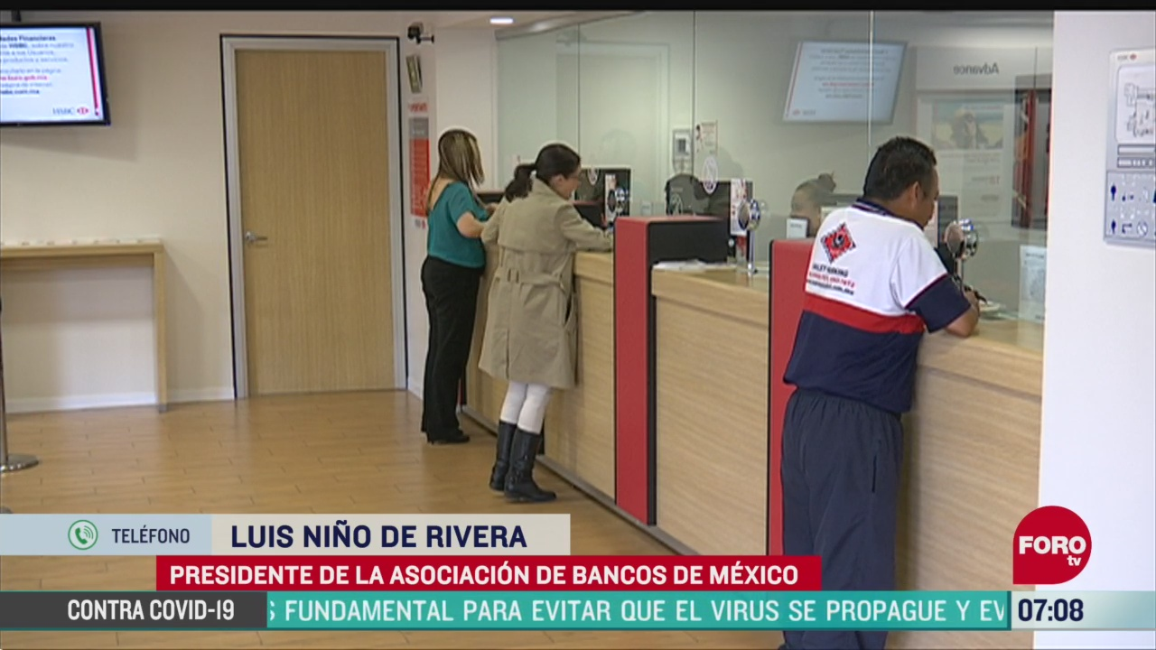 video entrevista con luis nino de rivera presidente de la asociacion de bancos de mexico