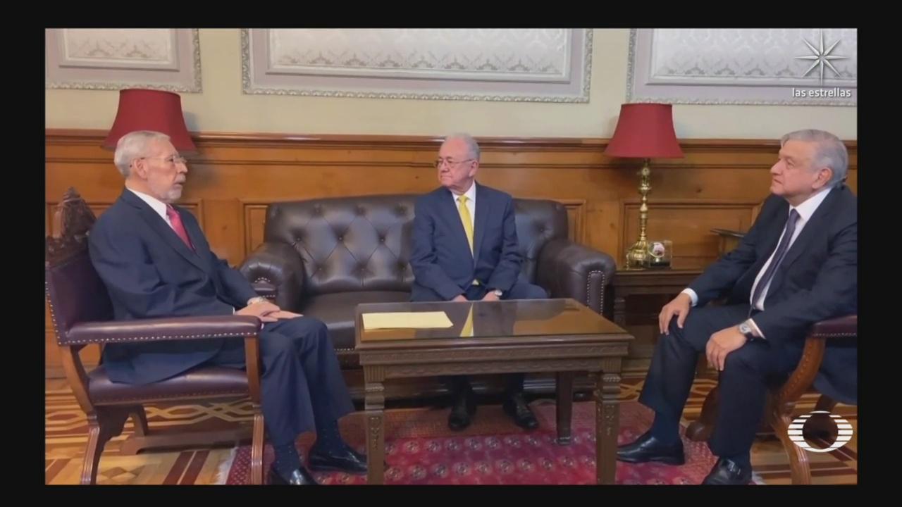 amlo acepta renuncia de javier jimenez espriu y nombra al nuevo titular en reunión