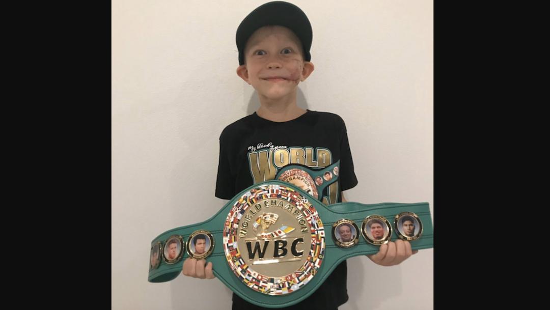 Bridger Walker Campeón Honorario WBC, Foto