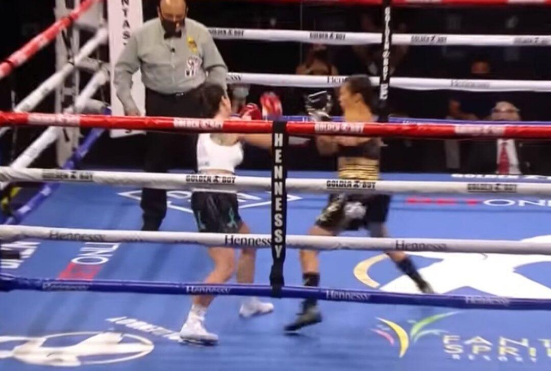 7 segundos para el llamado nocaut más rápido del box femenil
