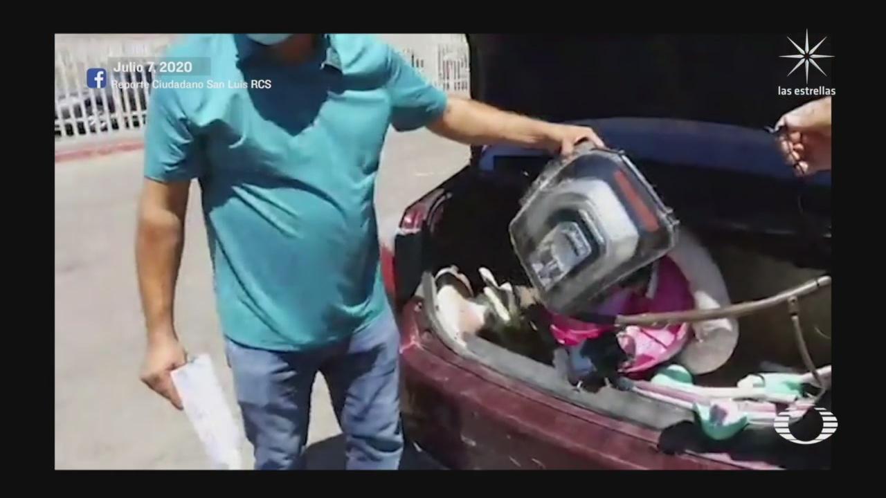 Habitantes de SLRC, denuncian cobros indebidos en aduanas