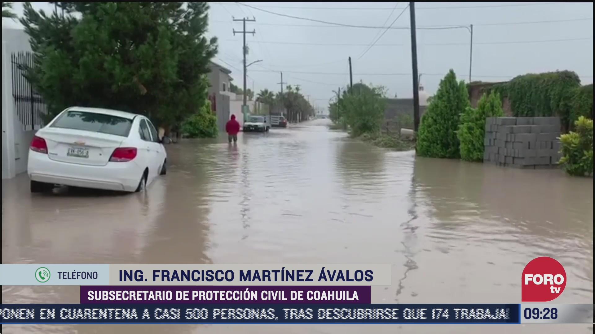 coahuila registra efectos graves tras lluvias por hanna