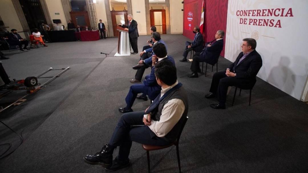 Ante representantes del sector obrero y patronal, el presidente López Obrador presentó la reforma al sistema de pensiones