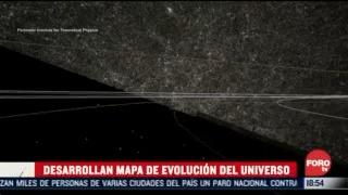 desarrollan mapa 3d de la evolucion del universo