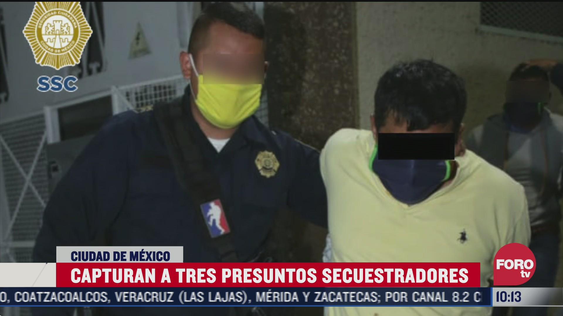 FOTO: 25 de julio 2020, detienen a tres implicadas en secuestro en colonia san juan de aragon