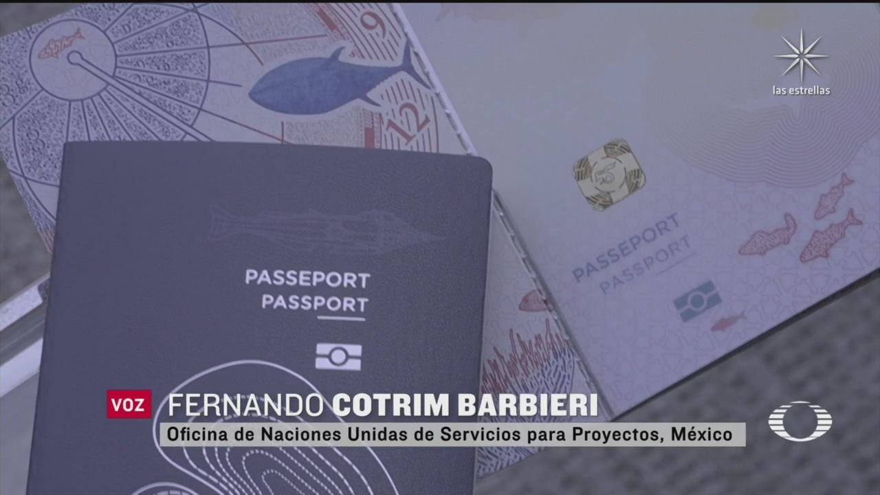 nuevo pasaporte electrónico en México, estará disponible en septiembre