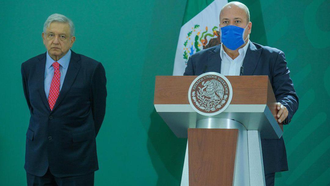 Enrique Alfaro Ramírez AMLO Pacto Fiscal