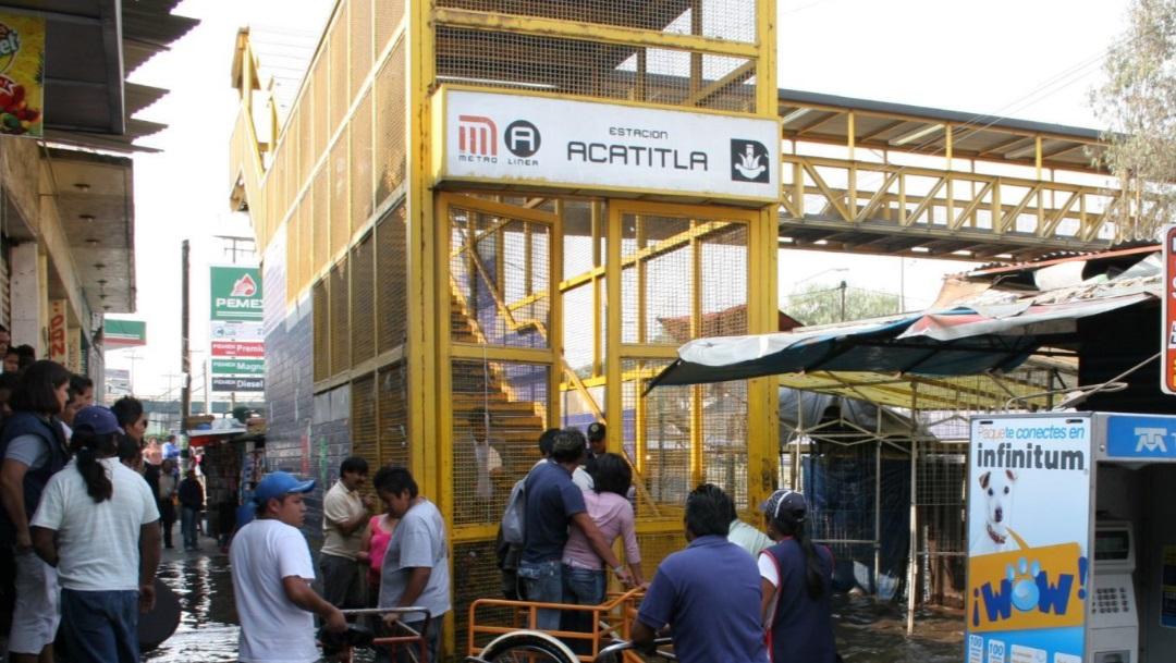 Estación Acatitla del Metro CDMX cerrara por Covid-19