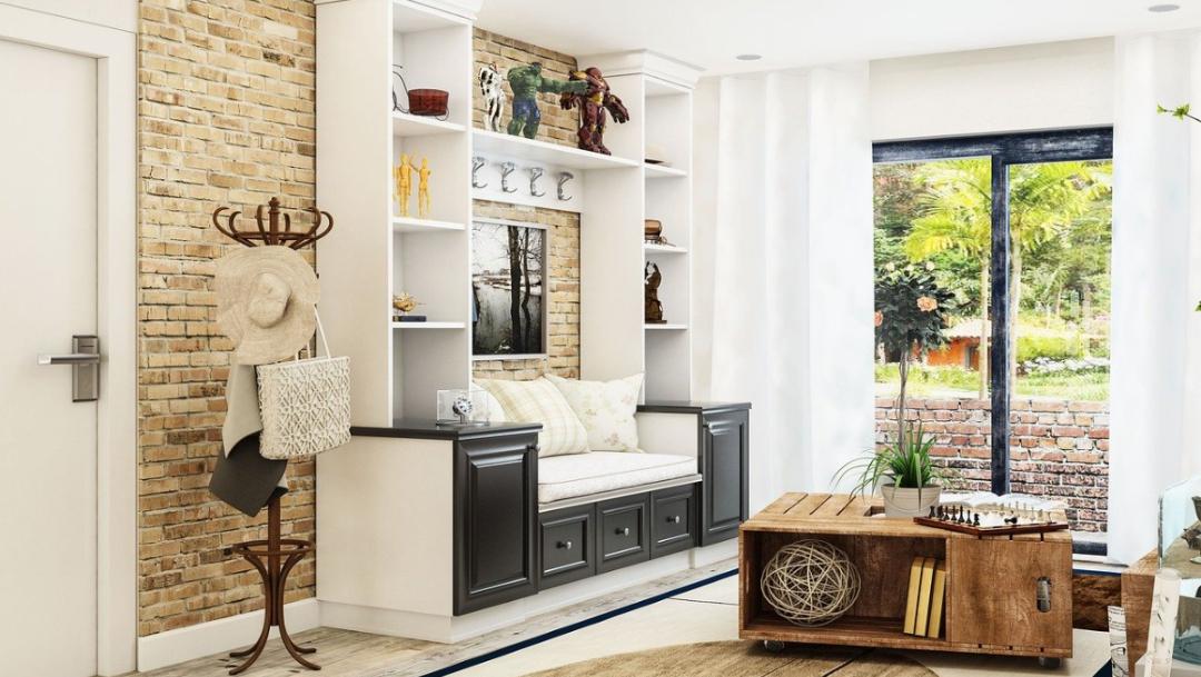 espacio comun dentro de una casa, sala