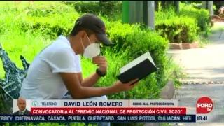 extienden convocatoria del premio nacional de proteccion civil hasta el 14 de agosto
