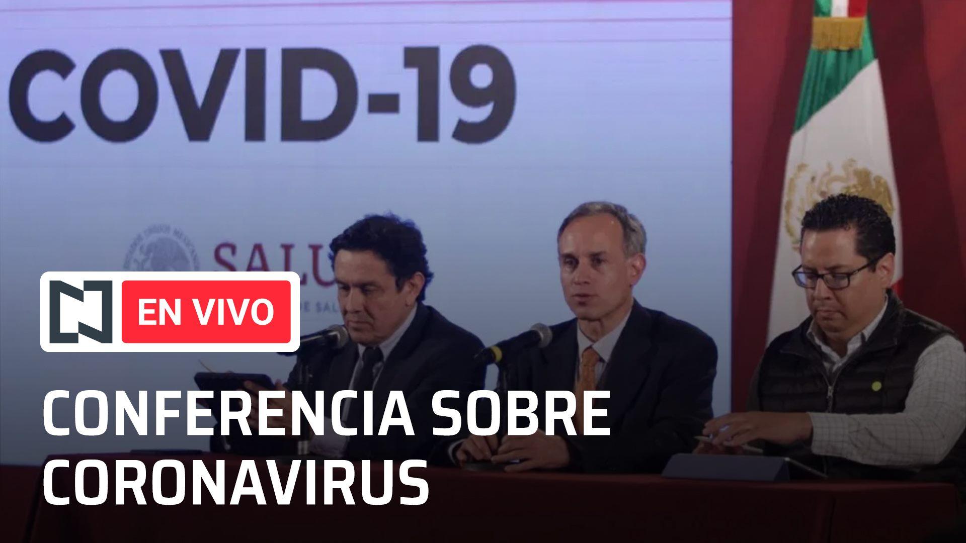 Conferencia por el coronavirus en México