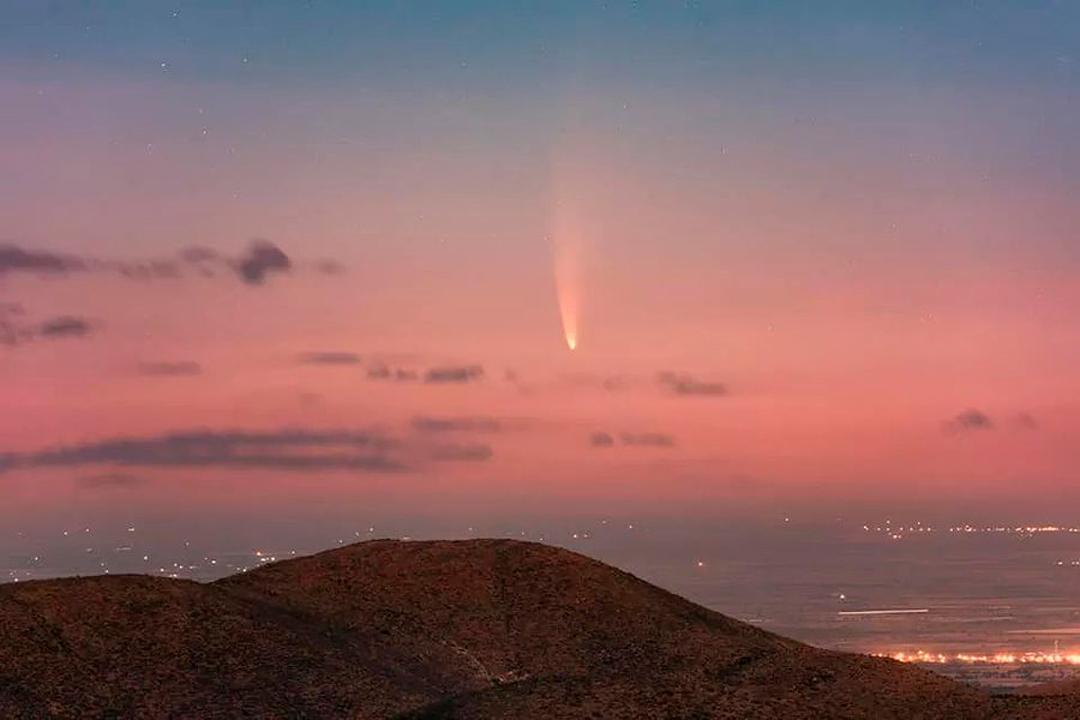 El cometa Neowise visto desde Zacatecas y alrededor del mundo