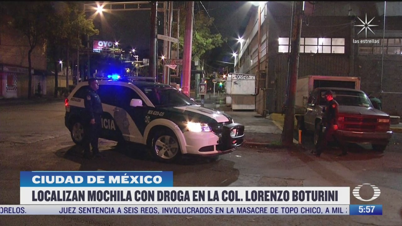 hallan mochila con droga dentro de tienda departamental en lorenzo boturini cdmx