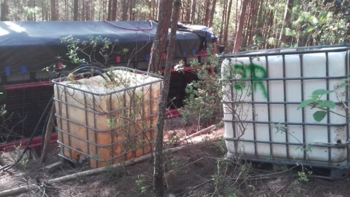 Aseguran-87-mil-litros-de-hidrocarburo-robado-en-Hidalgo