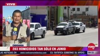 FOTO: 4 de julio 2020, homicidios dolosos en chihuahua aumentan en lo que va del ano
