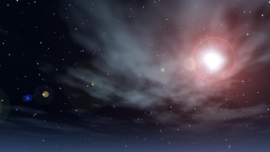 imagen para ilustrar nota sobre saturno y jupiter en oposicion planetaria